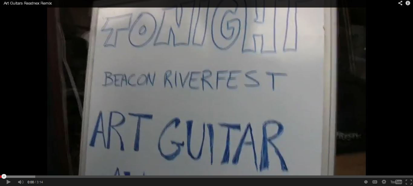Art Guitar Auction on YouTube